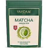 VAHDAM, Tè Verde Matcha (25 porzioni)| 100% PURO Tè in Polvere Matcha Giapponese | 137 Volte Più ANTIOSSIDANTI | Più…
