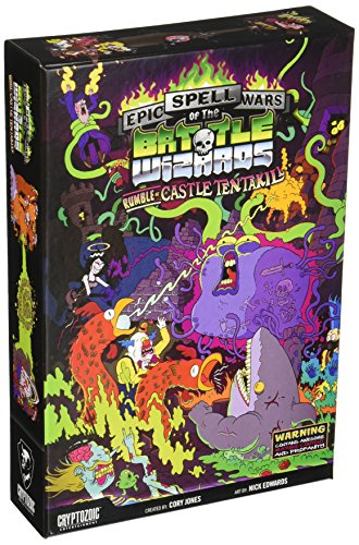 Cryptozoic Entertainment Inc. Epic Spell Wars of the Battle Wizards II: Rumble at Castle Tentakill Card Game