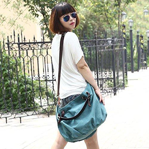 SHUhua - Sacchetto donna light green