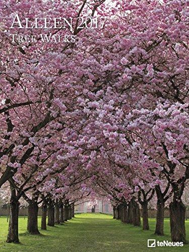 teneues Tree Walks Calendario poster 48x 64cm bianco