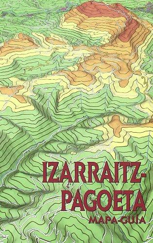 Izarraitz-pagoeta - mapa guia