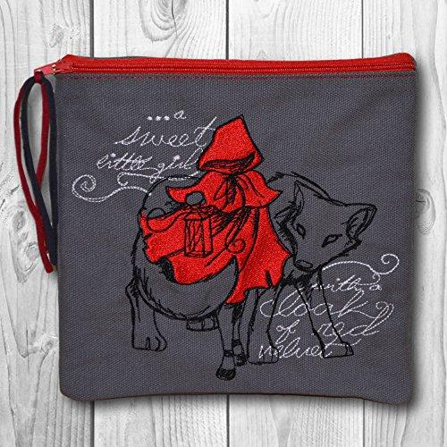 rtasche - Motiv: Red Riding Hood (Red Riding Hood Make Up)