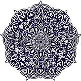 Mandala Wandtattoo Schlafzimmer Wandaufkleber Yoga Vinyl Aufkleber Mandala Blume Wandsticker Wohnzimmer Ornament Indischen Sticker Geometrische Marokkanische Boho Decor Bohemian MN272