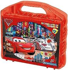 Clementoni 41160 - Puzzle Cubi Cars 2, 12 Pezzi
