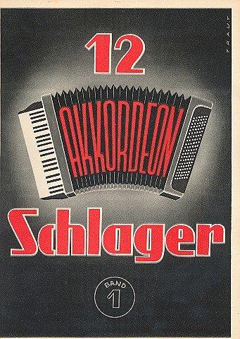 12 Akkordeon Schlager 1