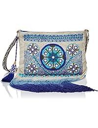 BDBA 17SS396, Bolsa para Lencería para Mujer, Azul (Blue), One Size (Tamaño del Fabricante:UNI)