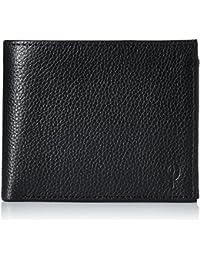 Indesign Men's Leather Wallet Black (BK-FO-CP-01)