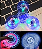 NiceTime Tri-Spinner Clear LED Fidget Spinner Spielzeug