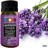 Organix Mantra Lavender Essential Oil, 100% Steam Distilled Natural, Pure and Organic (15ML)