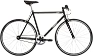 REID Unisex Adult Griffon Gloss Singlespeeds and Fixies L Cruiser Bike - Black, 130 x 40 x 20