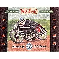 NORTON MOTORS Brochure 1953: Winner of 28
