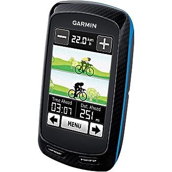Garmin Edge 800 Performance Bundle - Navegador GPS con pulsómetro y sensor de cadencia (160 x 240 Pixeles, 98 g, 5.1 mm, 2.5 mm, Ión de litio, 15 h)
