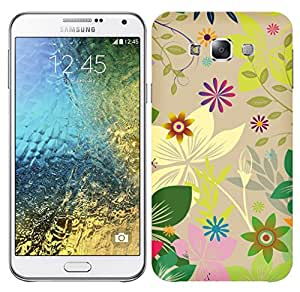 TrilMil Printed Designer Mobile Case Back Cover For SAMSUNG GALAXY E7