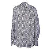 Hemden Prada Herren Baumwolle Weiß, Schwarz und Grau UCM608ALLUMINIO Weiß 39
