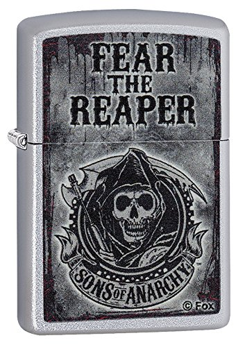 Zippo 2.003.709 Feuerzeug Sons of Anarchy, SOA, Satin Finish