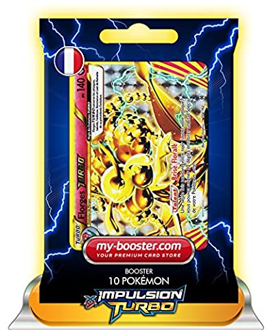 FLORGES TURBO 104/162 140PV XY08 IMPULSION TURBO - Booster de 10 cartes Pokemon francaises my-booster