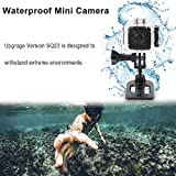 Mini Spy Hidden Camera SQ23 1080P HD Mini Wifi Camera Camcorder Night Vision CMOS 155 Degree Waterproof Hidden Camera Wireless Motion Detection for FPV Drone