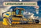 Landwirtschaft - die Zukunft ist digital (Wandkalender 2019 DIN A4 quer): Hightech in landwirtschaftlichen Maschinen. (Monatskalender, 14 Seiten ) (CALVENDO Technologie)