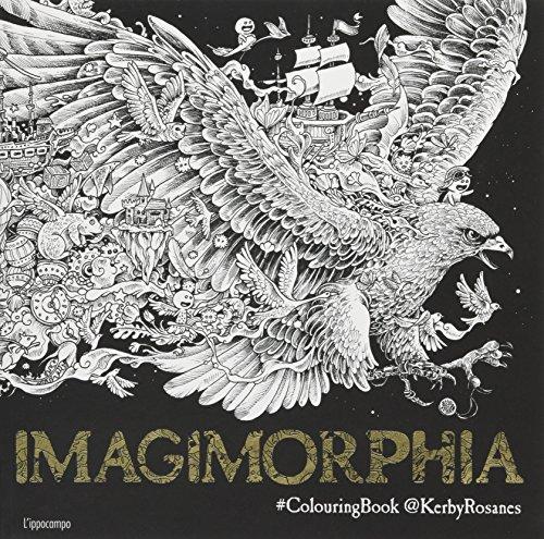 Imagimorphia. Colouring book por Kerby Rosanes