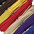 Strong Boot Laces - 4 mm round - ideal for walking and hiking boots Dr Martens - 16 colours - Lengths from 90 to 240cm - Made in England