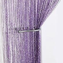 Jazz Glitter String Curtain Panel (Lilac)