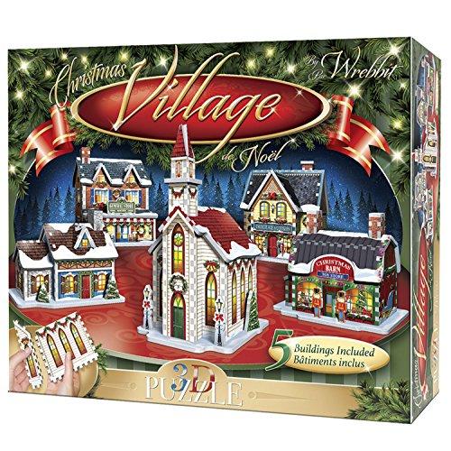 Wrebbit 3D WSP-05601 Weihnachtsdorf/Christmas Village von Wrebbit Puzzles