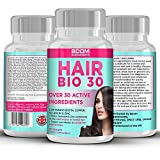 |Hair Growth Supplements || #1 Hair Growth Vitamins || Biotin Hair Treatment || 60 Natural Hair Thickener Tablets...