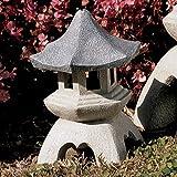 Progettazione Toscano NG729869 dimensioni asiatico statua pagoda lanterna medio, due pezzi