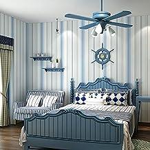Tapeten schlafzimmer blau  Suchergebnis auf Amazon.de für: tapete blau gestreift