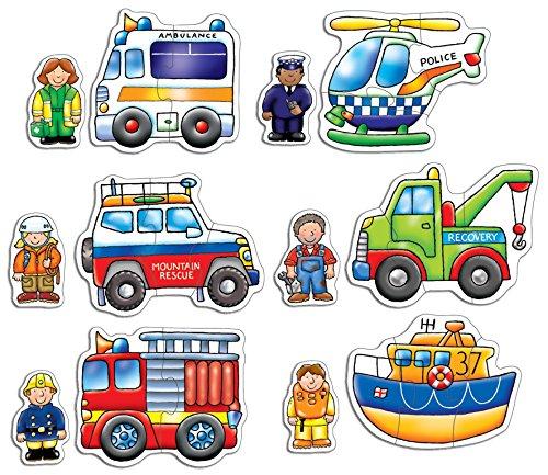 Imagen principal de Orchard Toys - Puzzle infantil, diseño de coches