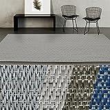 casa pura Indoor- & Outdoor-Teppich Turin | Bodenbelag für Flur, Küche, Bad, Terrasse, Balkon, Garten | kunstvoll Gewebt mit Schimmer Optik | Viele Größen (60x300 cm)