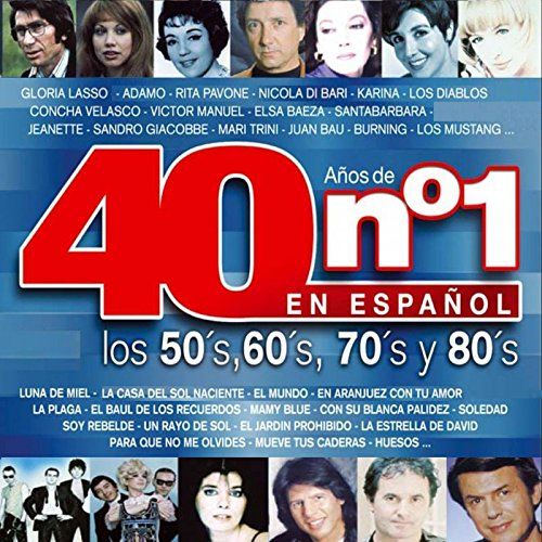 40 Años De Nº1: : Los 50-60-70-80 En Español