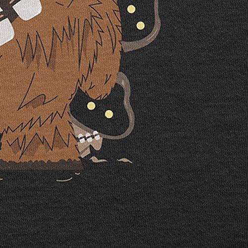 Texlab–Chewie and jawas–sacchetto di stoffa Nero
