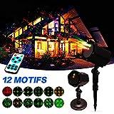 Noël Projecteur de lumière Lampe - Halloween Lumières étoilées Fête, Soirée, Extérieur, Yard, Intérieur Lampe Décorative, Éclairage de scène | Télécommande