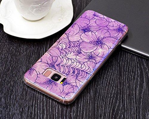 Für Samsung Galaxy S8 Soft Case, Ultra Thin Leichtgewicht Luxus Blue Light TPU Silikon Gel Schutzmaßnahmen zurück Deckung ( Color : C ) B