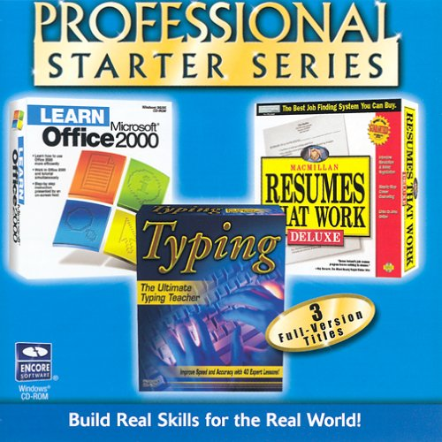Series  3-in-1 (Learn Office 2000, Typing, Resumes) (Office Starter)
