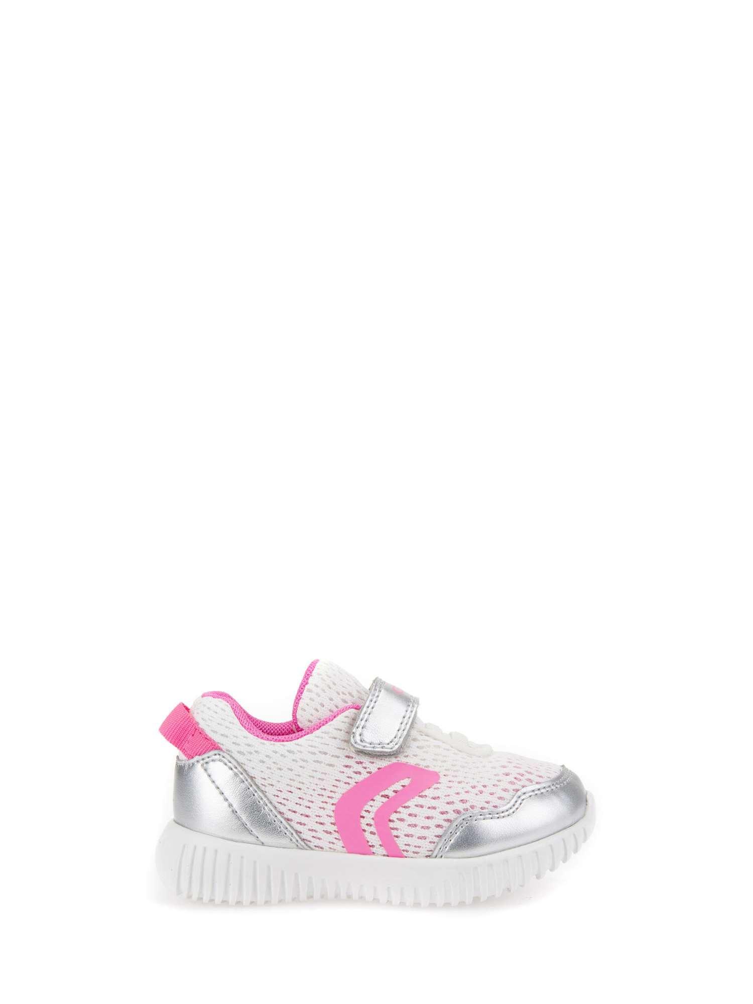 Geox B Waviness Girl B, Zapatillas para Bebés