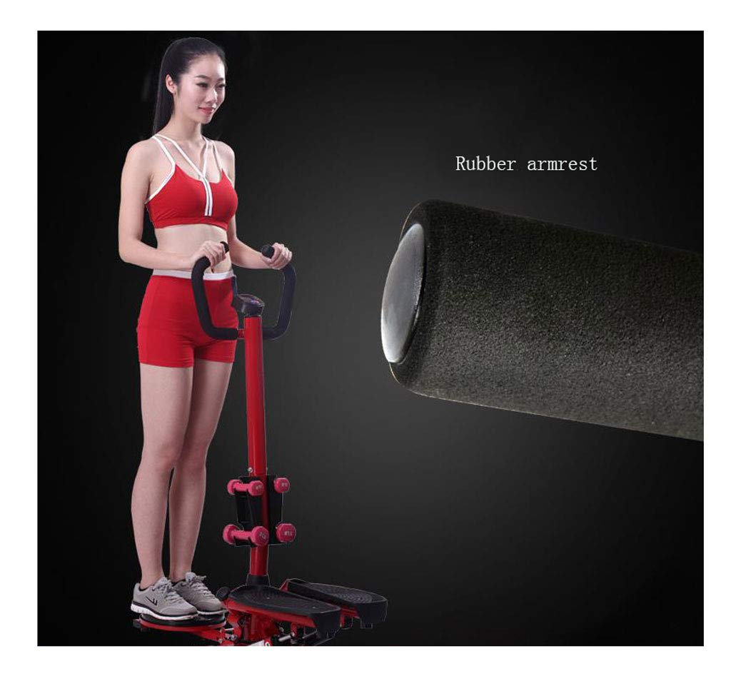 61C5BpLlq1L - LY-01 Steppers Stepper With Armrests,mute Multi-function Stepper Hydraulic Climbing Stepper Pedal Exercise