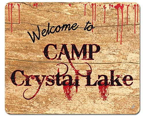 der 13. - Welcome To Camp Crystal Lake Mauspad 23 x 19 cm (Jason Halloween 13)
