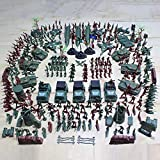 SH-Flying 307 Soldati di plastica del Giocattolo, Giocattoli dell'Esercito dei Soldati di Giocattolo La plastica Verde Tradizionale per i Giochi di Guerra Militari dell'Esercito Gioca i Giocattoli