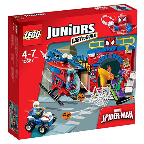 Image of LEGO 10687 Juniors Spider-Man Hideout