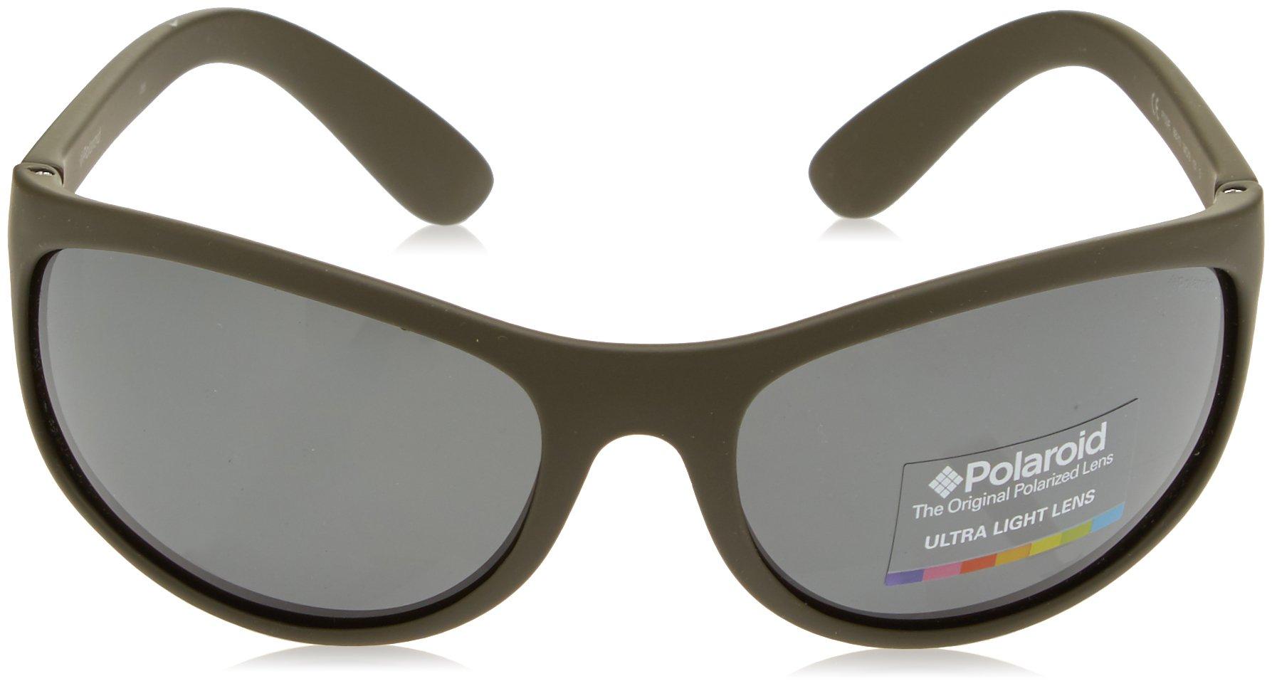 Polaroid - P7334 - Occhiali da sole Donna e Uomo Rettangolare - Polarizzati - Materiale leggero - Custodia protettiva… 2 spesavip