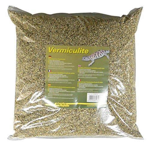 Lucky Reptile verm de 5 vermiculita 5l, Brut sustrato para reptilieneier