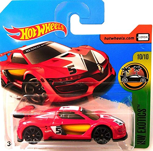 Hot Wheels 2017 HW Exotics Renault Sport R.S. 01 Red 365/365 (Short Card)