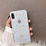 Surakey Coque Compatible avec iPhone XR Coque Silicone Glitter,Paillette Bling...