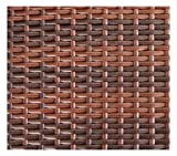 SVITA Del Sol POLY RATTAN Lounge Gartenset Sofa Garnitur Polyrattan Gartenmöbel Kissenbox (Braun) - 5