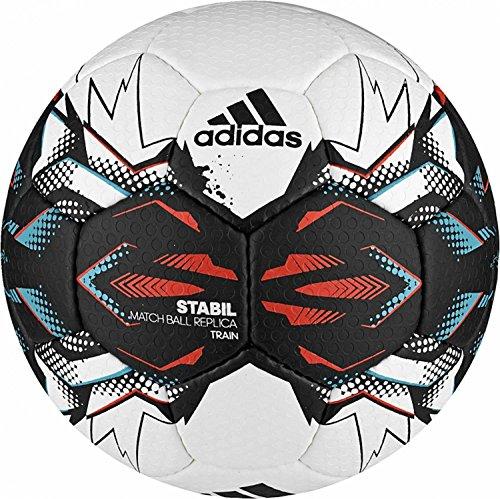adidas Stabil Train 9 Handball 2017 (Größe: 2 (Damen), white/black/energy blue s17/energy s17)