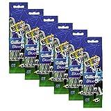 Gillette Blue III Einwegrasierer 3 Klingen-Technologie 8 Stück (6er Pack)