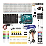REES52 Arduino UNO Secondary starter kit for uno r3 (BEGINNER'S KIT) WITH PLASTIC