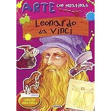 Leonardo da Vinci (Arte con pegatinas)